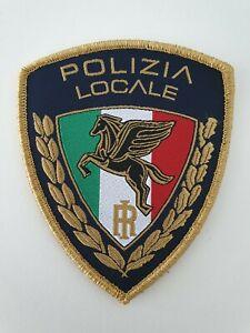 Scudetto con velcro Polizia Locale