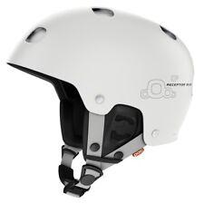 POC Receptor BUG Ski Helmet - Hydrogen White, Size Medium (55-56cm)