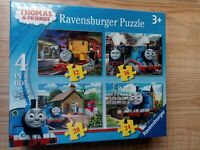 Ravensburger Thomas and Friends 4 in a box puzzle - BRAND NEW Jigsaw - Kids Toys