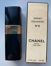 Chanel NO 5 EAU DE COLOGNE Spray 50 ml 1.7 FL OZ VINTAGE