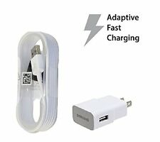 OEM Samsung Galaxy S7 & EDGE Adaptive Turbo Fast Charger + micro USB data cable