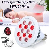 12W/24W/54W Bombilla de Terapia LED Luz de Infrarroja 660nm 850nm Para la Piel