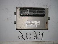 2003 03 JEEP LIBERTY COMPUTER BRAIN ENGINE CONTROL ECU ECM MODULE UNIT