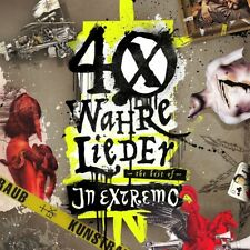 IN EXTREMO - 40 WAHRE LIEDER-THE BEST OF (2 CD)  2 CD NEUF