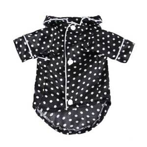 Cat Dog Pajamas Soft Cotton Small Pet Clothes Apparel Puppy Jumpsuit Home Coat