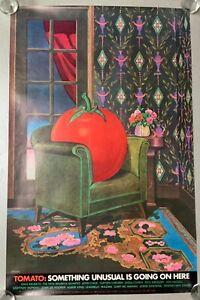 MILTON GLASER: THE TOMATO MUSIC COMPANY, RARE, POSTER, 23'' x 36'' Free Shipping