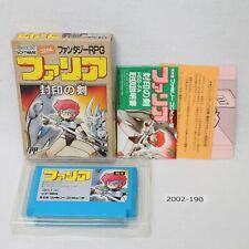 Nintendo NES FARIA w/box working Japan 2002-190