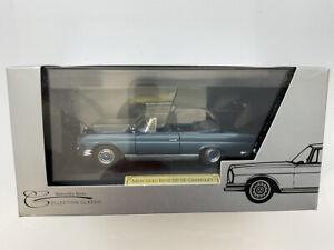 🔴  FALLER 1:43 Mercedes-Benz W111  220 SE Cabriolet RARE Mercedes Museum issue