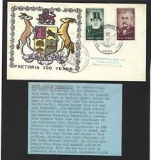 South Africa 1955 Pretoria Centenary cover to