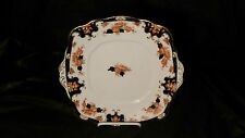 Antique c1907 TCW Royal Albert Aden Square Handled Cake Plate