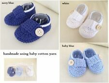 100% Cotton Baby Booties