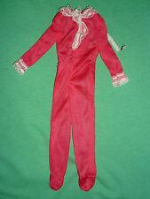 Barbie VINTAGE 1975 FASHION ~ #7203 Best Buy rosso alla moda pigiama