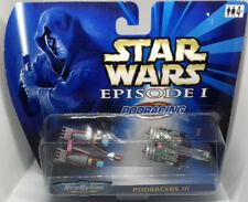 Star Wars Galoob 1999 MICRO MACHINES - PODRACERS III - two pack