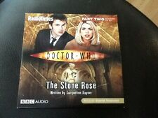 Doctor Who . The Stone Rose - Part 2 - Promo Audio CD ,  Read by David Tennant