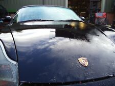 PORSCHE BOXSTER 986 911 996 SCHWARZ BLACK BONNET