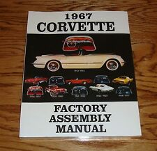1967 Chevrolet Corvette Factory Assembly Manual 67 Chevy