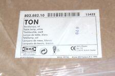 """IKEA   """" Ton """"    -     Tischleuchte  802.882.10        *** NEU & OVP ***"""