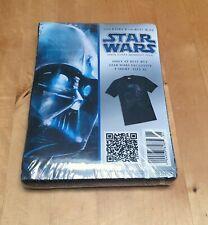 Vintage STAR WARS Darth Vader Best Buy Exclusive DVD Promo T-shirt Shirt tee XL