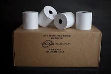 "1-Ply Kitchen Printer Paper Bond 3""x165' (50 Rolls)"