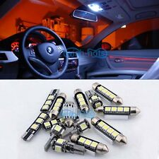14X White Canbus Interior LED Light Package Kit For 11-2013 VW Jetta MK6 wagon