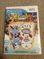 2 for 1 Power Pack Winter Blast and Summer Sports For Nintendo Wii Holy Grail!