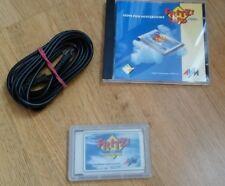 AVM Fritz!Card PCMCIA V2.0 ISDN Controller mit Kabel, CD und Anleitung