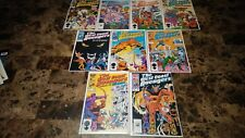 West Coast Avengers 1 2 3 4 5 6 7 8 9 NM to NM- 9.4 to 9.2 Original 1985 Series
