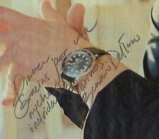 Sexy Benicio Del Toro Original Autographed in Spanish Magazine Page Oscar Winner