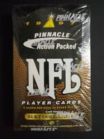 1997 Pinnacle Action Packed Football Box Factory Sealed 24 Packs