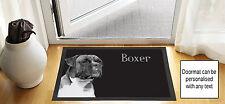 61cm x 40.6cm Chien Boxer noir brouillon DESSIN design porte d'entrée