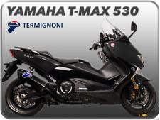 SCARICO COMPLETO TERMIGNONI COLLETT NERO CARBONIO OMOLOGATO YAMAHA T-MAX 530 17