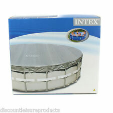 Intex 18 Foot Deluxe Round Pool Cover 549 Centimeters