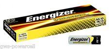 10 x Energizer Industrial Mignon LR6 AA Alkaline Batterien - lose 1,5V