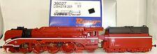 Roco 36027 Schnellfahr-dampflokomotive BR 18 201 de la DB AG en rojo DCC digital