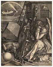 Melencolia I Albrecht Dürer Durer engraving ca.1528