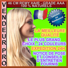 20 Hair Extensions Remy Installation Hot 100% Natural