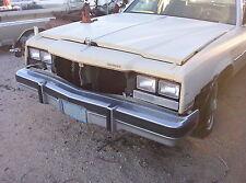 1979 Buick Park Avenue front bumper hood fenders doors glass-no windshield