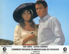 CLAUDIA CARDINALE TONY CURTIS DON'T MAKE WAVES 1967 VINTAGE PHOTO LOBBY CARD N°3
