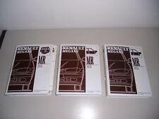 Workshop Manual Renault Megane Chassis Motor 1995