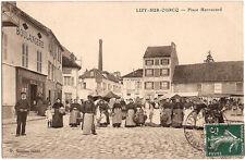 LIZY sur OURCQ (77) - Place Harrouard (Marché)
