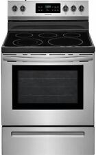 Frigidaire FFEF3054TS 30 Inch Electric Freestanding Range with 5 Elements, Smoot