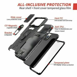 360 Ring Stand Mobile Camera Protection Case For iphone 13 Pro Max 12 Pro 11 Pro