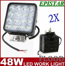 DC12V LED 48W Work Light Flood Light Off Road ATV SUV Car Boat Jeep Truck IP67