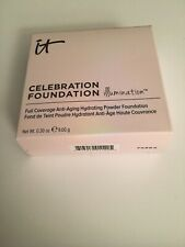 it Cosmetics Celebration Foundation LIGHT Anti-Aging Hydrating NEW 0.30 ounce
