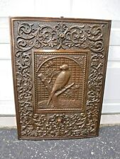 """New listing Antique Cast Iron Fireplace Surround Summer Cover Ornate """"Free"""" Shipping"""