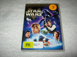 Star Wars - The Empire Strikes Back - VGC - DVD - R4