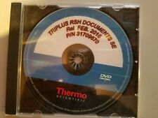 Thermo Scientific TRIPLUS RSH Documents SE Autosampler Software P/N: 31709670