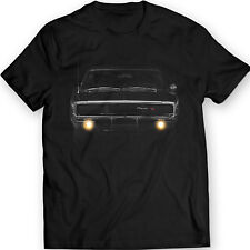 Dodge Charger 1968 R/T American Muscle T-shirt 100% Cotton