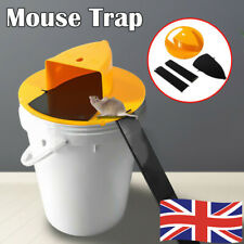 More details for n flip slide bucket lid mouse trap with ladder mousetrap rat mice catcher /uk