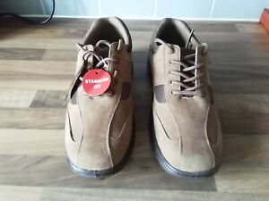 Men's Cushion Walk Shoes. Flexible/Breathable/Gel Comfort Size 8 New With Tags.